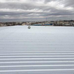 256 SQ Metal Roof PBR Panel Galvalume1183
